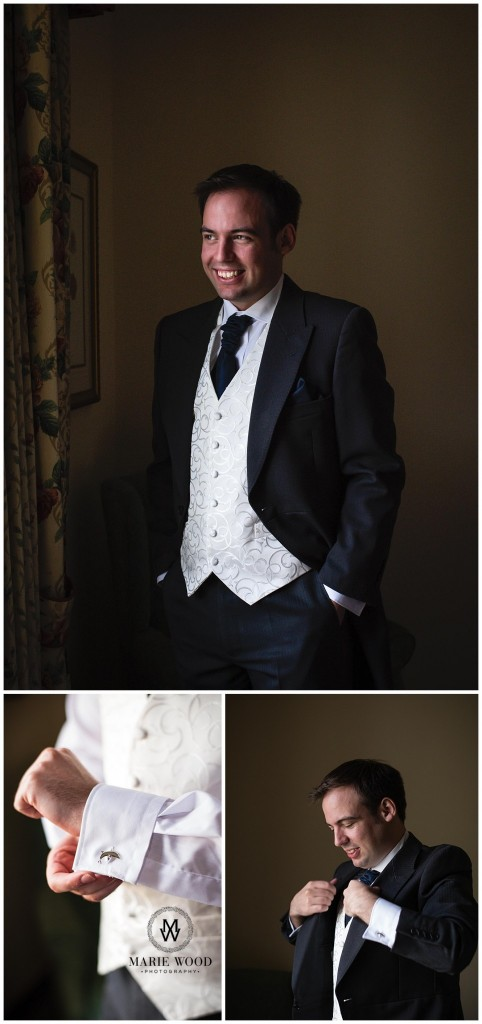 groom in a suit from greenwoods